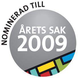 Bärbältet – Nominerad till årets sak 2009